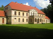 Rear view of the Manor